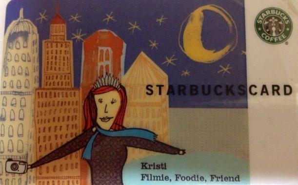 My Starbucks Card