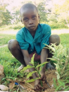 my sponsor child, Tumaini