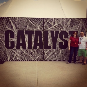Me and my friend Daron at Catalyst