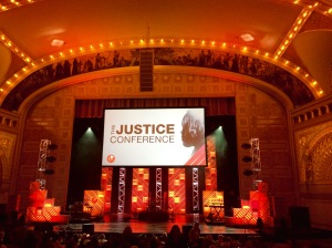 Justice Conference Stage