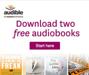 Download TWO FREE audiobooks!