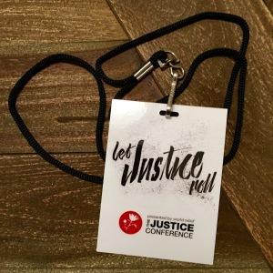 Justice Conf 2016 Badge