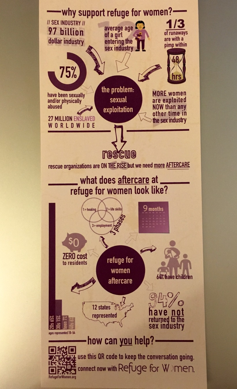 Refuge For Women Graphic