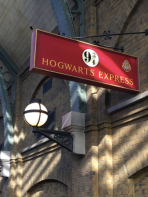 Boarding the Hogwarts Express