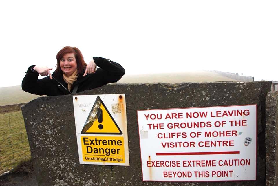 Cliffs of Moher - Danger