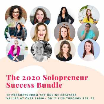 2020 Solopreneur Success Bundle